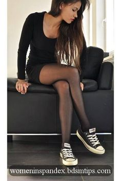 Tights arent really my thing... But this outfit is really cute. I probably would wear it. :) classy enjoy my collection of hot girls in tight clothes,spandex,lycra,tight shorts...