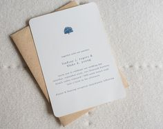 Personalized wedding invitations created by our talented staff.