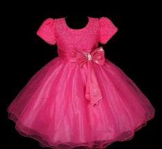 Vestido Infantil Festa/princesa Noite 3 Saias De Tule - R$ 119,00
