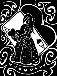 Second of collection. Based on the Queen of Hearts, the Ace of Hearts. Collection: Ace of Hearts Ace Of Hearts, Queen Of Hearts, Minnie Mouse, Disney Characters, Fictional Characters, Letters, Deviantart, Collection, Letter