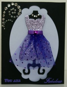 Handmade Dress Greeting Card