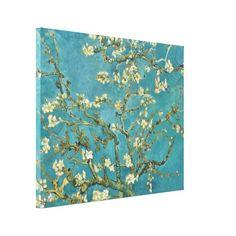 Vincent van Gogh Almond Blossom Fine Art GalleryHD Canvas Print - artists unique special customize presents
