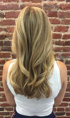 #Balayage by Zobeyda #blonde #highlights #hairpainting #hair #haircolor #davidriossalon #dcsalon #dcstylist #georgetownsalon #blondehairdontcare #hairsalon