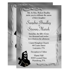 Day of the Dead Wedding Invitations - wedding invitations cards custom invitation card design marriage party