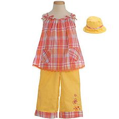 Another cute idea for girls!    Childrens Clothing Fashion Blog: Kids Clothes, Baby Clothes, Girls and Boys Clothing: New Baby Clothes are in Bloom at Sophias Style