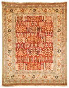 SR804A Rug from Samarkand collection.  Exquisitely designed luxury carpets in the finest traditions of Khotan rug artistry. Dazzling colors radiate from oasis-inspired motifs and a soft, rich wool pile that ties together the incredibly universal allure of these traditionally styled area rugs. A classic look to accentuate any sophisticated decor.