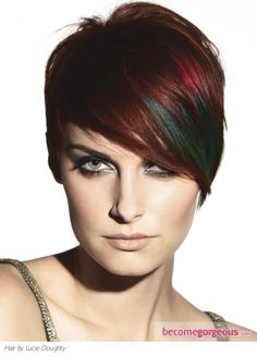 Emo Pixie Short Haircut  Emo Girl Hairstyles pictures  This Emo Pixie short haircut looks super-fabulous when paired with all hair textures as well as face shapes. Crown the glam factor of your tresses with additional radiant hair highlights.