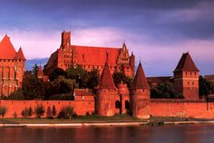 Castle of the Teutonic Order in Malbork, Marienburg (Mary's Castle), Poland
