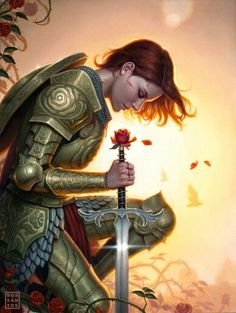 Ritterin der Rose