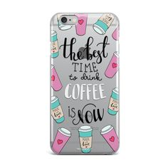 COFFEE TIME IPHONE CASE #coffeetime