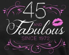 Funny Birthday T Shirt 45th Gift Ideas For Women Personalized TShirt Bday Present The Queen Is 45 Years Old Ladies Tee
