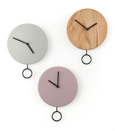 Haro Clocks By Estudio Diario