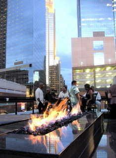 Seven Sushi Lounge Rooftop Patio - I know this is a restaurant, but would love a rooftop patio with a chic fire pit.