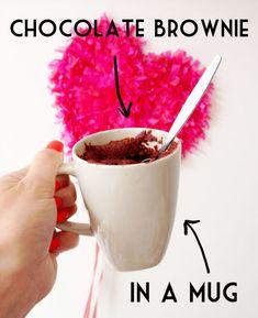Microwave brownie recipe vegan chocolate
