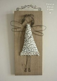 The angel vivi pattern angel making pinterest ornaments find this pin and more on wire craftart solutioingenieria Image collections