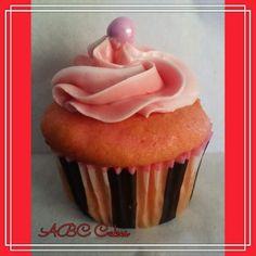 Strawberry Pink Cupcake