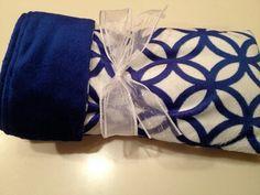 Doxie dachshund Pup Snuggle Sack ROYAL BLUE by NanaKidsDesigns, $40.00