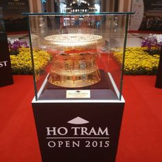 Wonder who will be picking up this trophy this afternoon? Sergio is my pick #golf #caddie #tourlife #asiantour #hotramopen