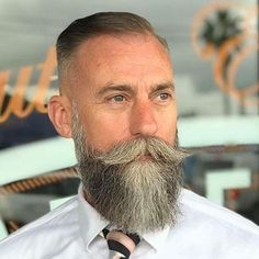 69 Trendy Beard Style For Round Face Men you Must Try Long Beard Styles, Beard Styles For Men, Hair And Beard Styles, Grey Beards, Long Beards, Bald Guys With Beards, Round Face Men, Beard Tips, Barbers