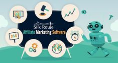 SilkRoute is affordable & easy to use affiliate tracking software.  #SilkRoute #AffiliateMarketingSolution