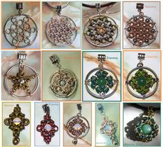 Chainmail pendants