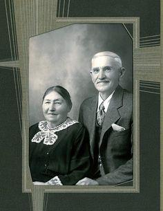 Herman Olaf & Rena Augusta  Enderud from Akerhaus, Norway