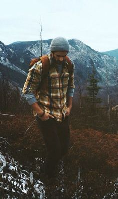 ideas for how to wear flannel shirt men lumberjacks howtowear is part of Lumberjack style - Mens Outdoor Fashion, Outdoor Men, Rustic Mens Fashion, Hiking Outdoor, Mens Autumn Fashion, Rugged Style, Style Men, Men Style Casual, Smart Casual
