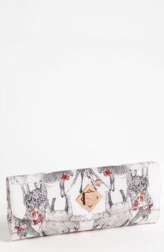 Ted Baker London 'Safari Play' Twist Lock Envelope Clutch available at Nordstrom