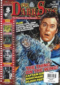 The Dark Side magazine Twilight Zone I Am Legend  Best of 8mm horror Hockley