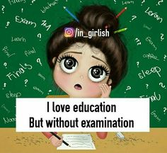 Funny quotes on education in hindi facts funny girl quotes exam quotes crazy girl quotes funny Crazy Girl Quotes, Funny Girl Quotes, Crazy Girls, Girly Attitude Quotes, Girl Attitude, Girly Quotes, Exam Quotes, Study Quotes, Exam Tension