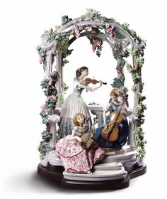 LLADRO LIMITED EDITION  HUGE 01001974  SUMMERTIME SYMPHONY 1974  NEW IN A BOX