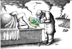 Black and White polluted atmosphere green drawing pregnant birthing Pictures With Deep Meaning, Art With Meaning, Meaningful Pictures, Powerful Pictures, Satire, Painting & Drawing, Frases Instagram, Satirical Illustrations, Deep Art