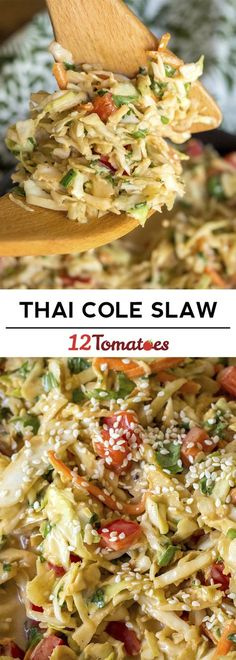 Thai Cole Slaw - how delicious does that sound??!