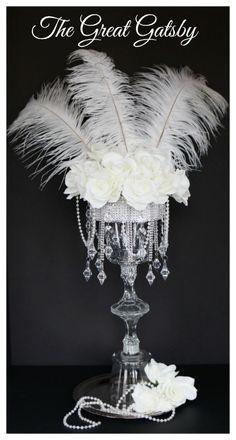 Wedding themes gatsby bridal shower Ideas for 2019 Great Gatsby Party, Great Gatsby Motto, The Great Gatsby, 1920s Wedding, Trendy Wedding, Diy Wedding, Wedding Ideas, Wedding Veils, Wedding Hair