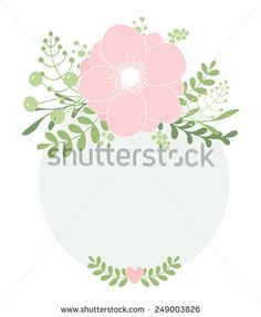 Vector Hand drawn Floral illustration