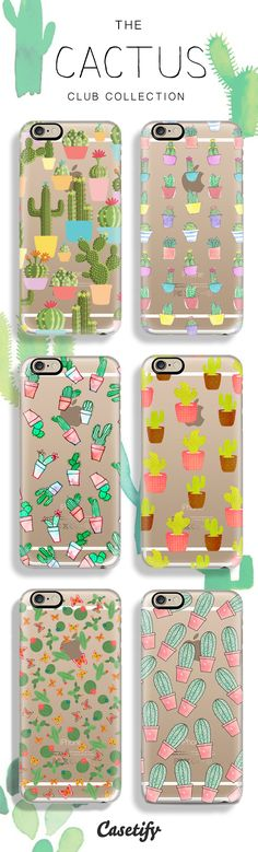 Join the Cactus Club! Shop this summer's must have pattern now at Casetify!