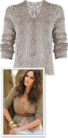 free pattern lace worked sweater mmmm me like