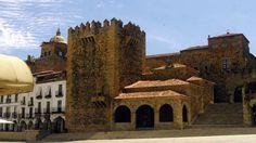 Fotos de: Cáceres - vista general de la ciudad