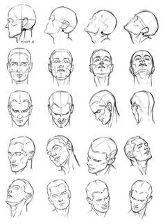 Голова поворот