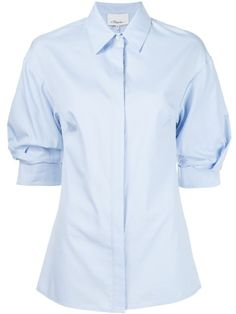 cf1497e1b3ffca Shop 3.1 Phillip Lim puff sleeve shirt in Atelier from the world's best  independent boutiques at farfetch.com. Shop 400 boutiques at one address.