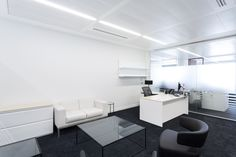 WME-IMG Office by The Interiors Group - Office Snapshots : WME Entertainment Office by The Interiors Group - Office Snapshots Modular Lounges, Modular Sofa, Breakout Area, Workplace Design, Dining Bench, Entertaining, Interior Design, Storage, Table