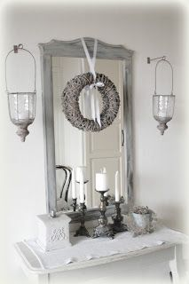 Not this one per se, but I love a good wreath on a mirror