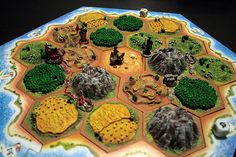 Settlers of Catan 3D Edition by GamesForAll, via Flickr