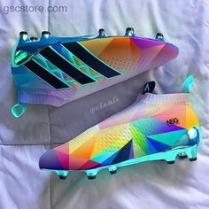 Ces taquets sont cuteeeeeeYou can find Soccer shoes and more on our website. Cool Football Boots, Football Shoes, Football Cleats, Adidas Soccer Boots, Adidas Cleats, Messi Cleats, Cleats Shoes, Girls Soccer Cleats, Soccer Gear