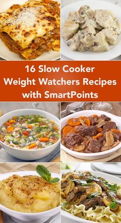 16 Slow Cooker Weight Watchers Recipes with SmartPoints