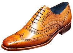 fc6f78fb03f37 Barker Shoe Style: McClean - Cedar Calf/Paisley Laser Design Haberdashery,  Paisley,