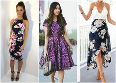 Модные платья весна-лето 2018 в цветочном принте. Коттон и плательные ткани  от Идея 996aad37f1d