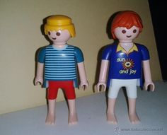 PLAYMOBIL FIGURAS CITY. PAREJA DE SURFISTAS