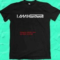 Kaos Distro Dj I Am Hardwell Original EDM Merchand