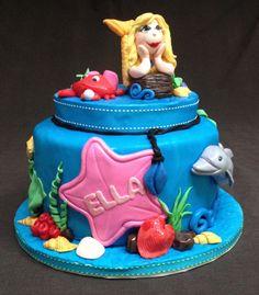 H20 Mermaid Cake